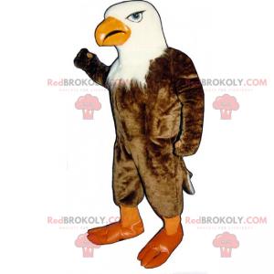Eagle mascot with a white head - Redbrokoly.com