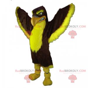 Adler Maskottchen mit einem großen Schnabel - Redbrokoly.com