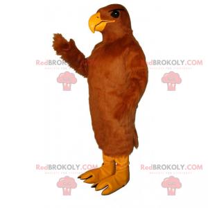 Adler Maskottchen mit majestätischem Gefieder - Redbrokoly.com