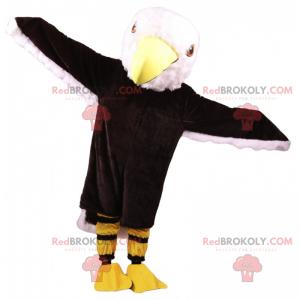 Eagle mascot with big head - Redbrokoly.com