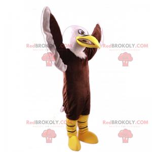 Angry eagle mascot - Redbrokoly.com