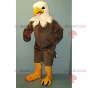 Weißkopf des grauen Adlermaskottchens - Redbrokoly.com