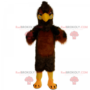 Brown and angry eagle mascot - Redbrokoly.com