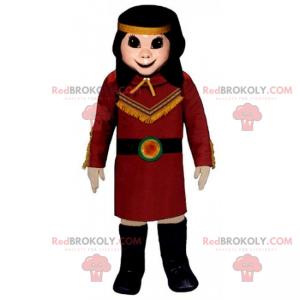 Indiánský maskot - Redbrokoly.com