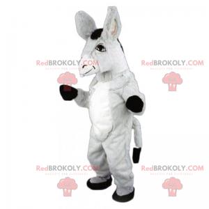 Donkey mascot with big ears - Redbrokoly.com
