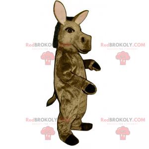 Brown Esel Maskottchen - Redbrokoly.com
