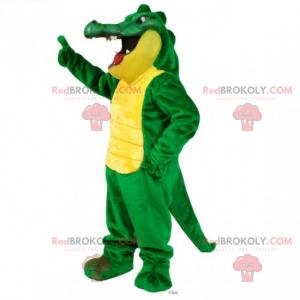 Maskot divokých zvířat - krokodýl - Redbrokoly.com