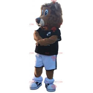 Wild animal mascot - Little wolf - Redbrokoly.com