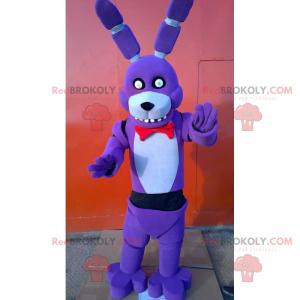 Anime mascot - Purple rabbit - Redbrokoly.com