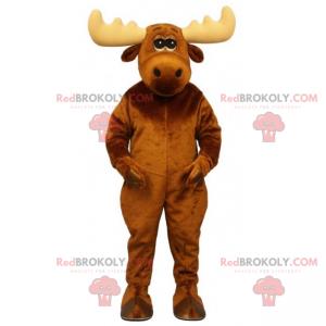 Endearing caribou mascot - Redbrokoly.com