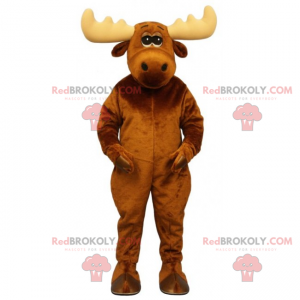 Roztomilý maskot karibu - Redbrokoly.com