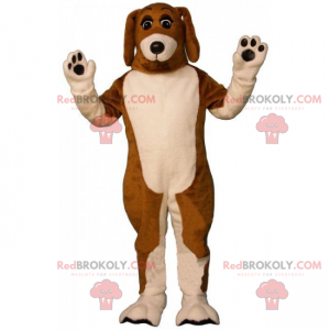 Beagle Harrier mascot - Redbrokoly.com