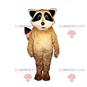 Mascota de mapache bebé - Redbrokoly.com