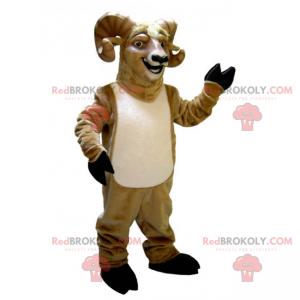 Sorridente mascotte di ariete - Redbrokoly.com