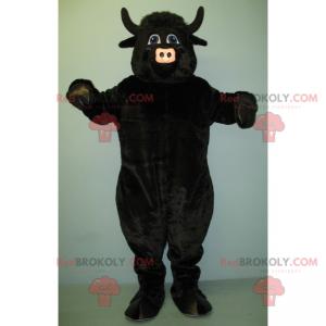 Black beef mascot - Redbrokoly.com