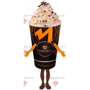 Drink mascot - Coffee with whipped cream - Redbrokoly.com
