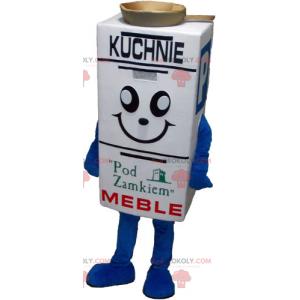 Smiling box mascot - Redbrokoly.com