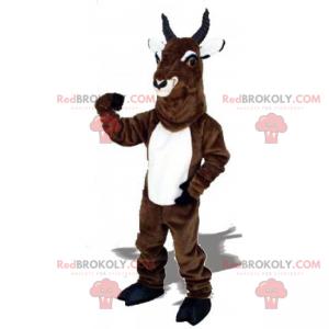 Steenbok mascotte - Redbrokoly.com