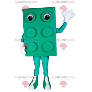 Lego cihlový maskot - zelený - Redbrokoly.com