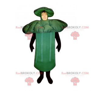 Broccoli mascot - Redbrokoly.com