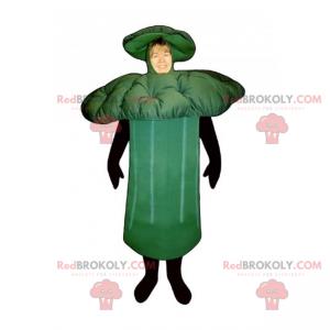 Mascote de brócolis - Redbrokoly.com