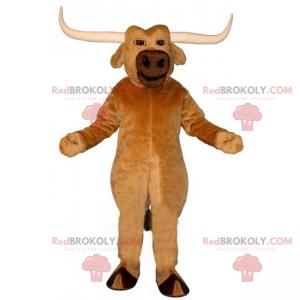 Buffalo mascot with big horns - Redbrokoly.com