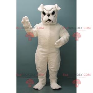 Maskottchen der weißen Bulldogge - Redbrokoly.com
