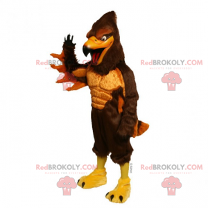 Two-tone nozzle mascot - Redbrokoly.com