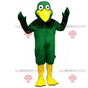 Kachní maskot s velkým zobákem - Redbrokoly.com