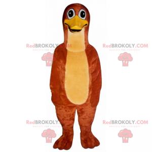 Oranžová kachna maskot - Redbrokoly.com