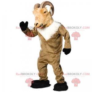 Steinbukken maskot - Redbrokoly.com