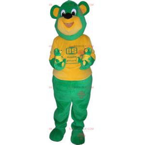 Mascote de castor com chapéu - Redbrokoly.com