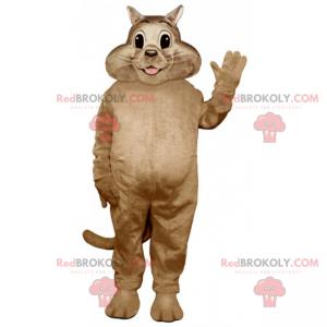 Lächelndes Katzenmaskottchen - Redbrokoly.com