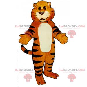 Maskot kočka tygr - Redbrokoly.com