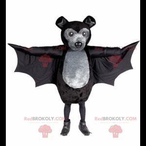 Black bat mascot - Redbrokoly.com