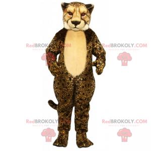 Gepard maskot béžové břicho - Redbrokoly.com