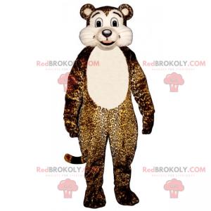 Gepard maskot bílé břicho - Redbrokoly.com
