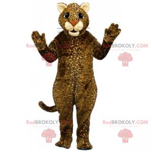 Gepardenmaskottchen mit beigen Ohren - Redbrokoly.com