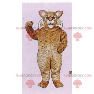 Maskot gepard s měkkými vlasy - Redbrokoly.com
