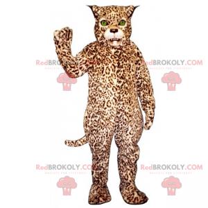 Cheetah mascot with green eyes - Redbrokoly.com