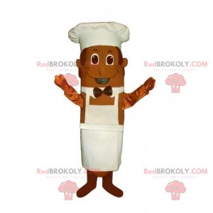 Kochmaskottchen mit Fliege - Redbrokoly.com