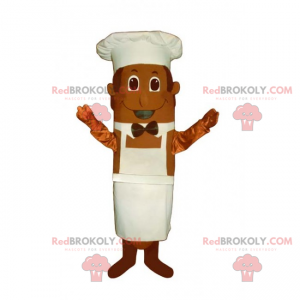 Kokkemaskot med sløyfe - Redbrokoly.com