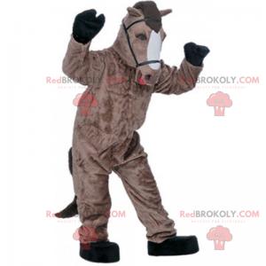 Horse mascot with harness - Redbrokoly.com