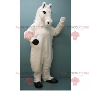 Maskot bílého koně - Redbrokoly.com