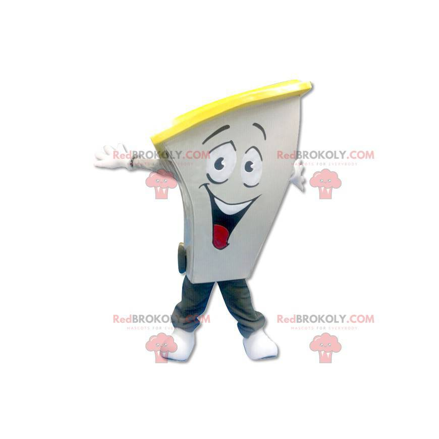 Recyklovaný koš maskot - Redbrokoly.com