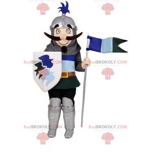 Knight mascot in armor - Redbrokoly.com