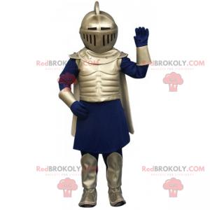 Mascote do cavaleiro medieval - Redbrokoly.com