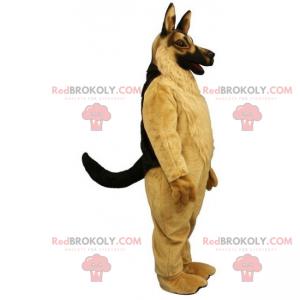 Dog mascot - German Shepherd - Redbrokoly.com