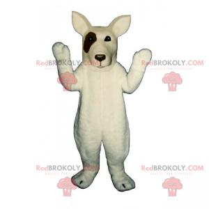 Dog mascot - Bull Terrier - Redbrokoly.com
