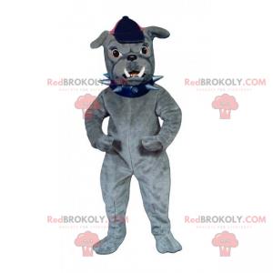 Maskot psa - buldok s víčkem - Redbrokoly.com